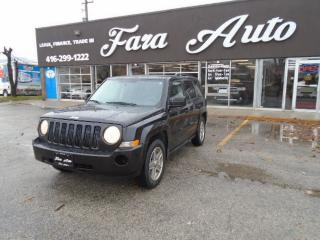 Used 2008 Jeep Patriot 4WD  Sport for sale in Scarborough, ON