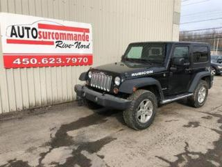 Used 2008 Jeep Wrangler RUBICON for sale in St-Joseph-Du-Lac, QC
