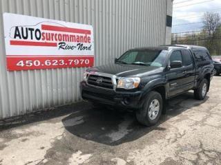 Used 2010 Toyota Tacoma -- GARANTIE 1AN/12 000 KMS -- for sale in St-Joseph-Du-Lac, QC