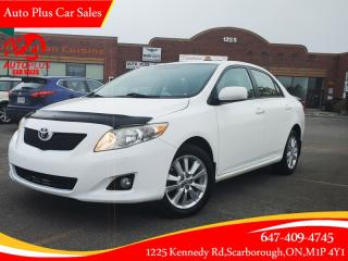 Used 2010 Toyota Corolla 4DR SDN for sale in Scarborough, ON