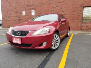 Used 2007 Lexus IS 250 4DR SDN AUTO AWD for sale in Scarborough, ON