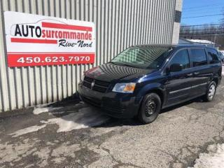 Used 2010 Dodge Grand Caravan SE -- GARANTIE 1 AN/ 15 000 KMS -- for sale in St-Joseph-Du-Lac, QC