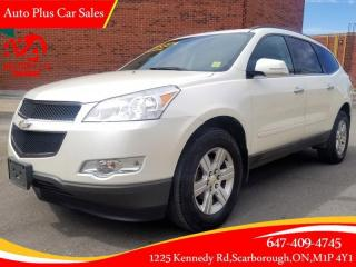 Used 2012 Chevrolet Traverse FWD 4dr (NO accident, Ontario car, backup camera) for sale in Scarborough, ON