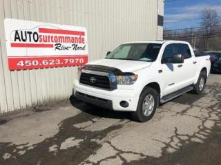 Used 2009 Toyota Tundra SR5 -- GARAMTIE 1 AN/ 15 000 KMS -- for sale in St-Joseph-Du-Lac, QC