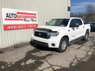 Used 2009 Toyota Tundra SR5 -- GARAMTIE 1 AN/ 15 000 KMS -- for sale in St-Joseph-Du-Lac, QC
