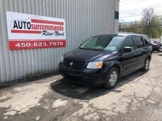 Used 2010 Dodge Grand Caravan SE -- VEHICULE ADAPTÉ HANDICAPÉ -- for sale in St-Joseph-Du-Lac, QC