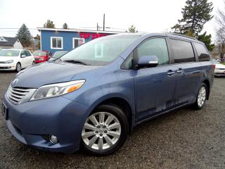 Used 2015 Toyota Sienna Limited AWD 7Pas Pano Navi DVD Leather Power Doors Certified for sale in Guelph, ON