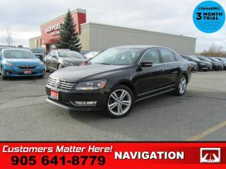 Used 2013 Volkswagen Passat 2.0 TDI Highline  NAV ROOF LEATH CAM for sale in St. Catharines, ON
