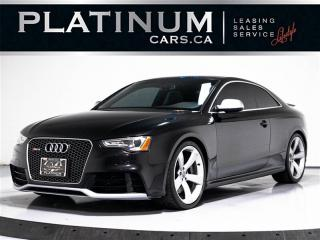 Used 2013 Audi RS 5 AWD, TECHNIK, NAV, Blind SPOT, Push BUTTON, Camera RS 5 for sale in Toronto, ON