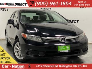 Used 2012 Honda Civic EX| LOCAL TRADE| SUNROOF| BLUETOOTH| for sale in Burlington, ON