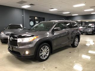 Used 2014 Toyota Highlander XLE*8-PASSENGER*NAVIGATION*BACK-UP CAMERA*LOW KM*C for sale in North York, ON