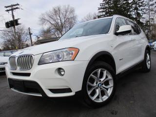 Used 2011 BMW X3 28I XDRIVE AWD|NAVIGATION|BACK-UP CAM|MOONROOF for sale in Burlington, ON
