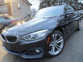 Used 2016 BMW 4 Series 428I XDRIVE AWD COUPE NAVI SUNROOF 78,000KMS !! for sale in Burlington, ON