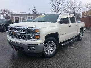 Used 2014 Chevrolet Silverado 1500 LT | Crew 5.3L 4x4 | Htd Leather | Nav | 6 Pass | for sale in St Catharines, ON