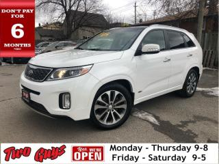 Used 2014 Kia Sorento SX GDI | AWD | Leather | Panoroof | Nav | for sale in St Catharines, ON