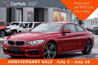 Used 2017 BMW 4 Series 440i xDrive M Sports Aero Light Packages HK Sound Sunroof Navigation Backup Camera for sale in Thornhill, ON