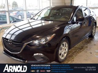 Used 2016 Mazda MAZDA3 GX for sale in Jonquière, QC