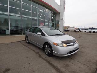 Used 2008 Honda Civic LX 4 portes, boîte automatique for sale in Trois-Rivières, QC