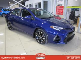 Used 2017 Toyota Corolla CVT SE A/C CUIR TOIT MAGS CAM RECUL BLUE for sale in Montréal-Nord, QC