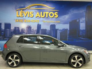 Used 2015 Volkswagen Golf 1.8 TSI MAGS 17 POUCES 5 VITESSE BLUETOO for sale in Lévis, QC