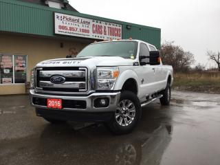 Used 2016 Ford F-250 Lariat SUPER DUTY||LEATHER||CERTIFIED for sale in Bolton, ON
