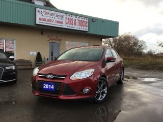 Used 2014 Ford Focus SE CERTIFIED!! for sale in Bolton, ON