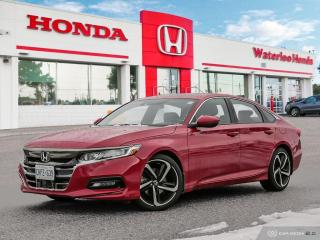 Used 2019 Honda Accord Sport 1.5T Demonstrator! Save Freight and PDI! for sale in Waterloo, ON