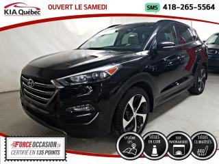 Used 2016 Hyundai Tucson ULTIMATE* AWD* GPS* TOIT PANO* CUIR* for sale in Québec, QC