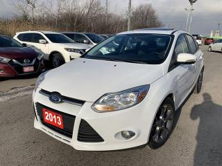 Used 2013 Ford Focus SE/ SUNROOF /ACCIDENT FREE for sale in Pickering, ON