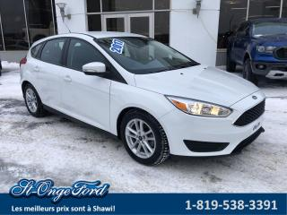 Used 2017 Ford Focus Hayon SE bas kilométrage! for sale in Shawinigan, QC