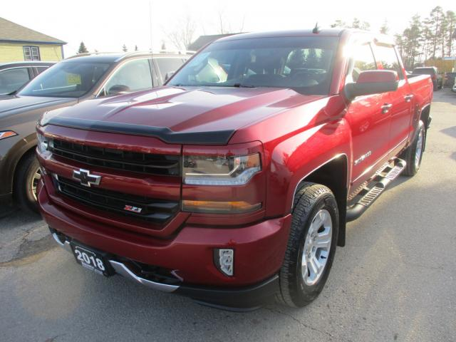 2018 Chevrolet Silverado 1500 LIKE NEW LT EDITION 6 PASSENGER 5.3L - VORTEC.. 4X4.. CREW CAB.. SHORTY.. TRAILER BRAKE.. BACK-UP CAMERA.. BLUETOOTH SYSTEM.. KEYLESS ENTRY..