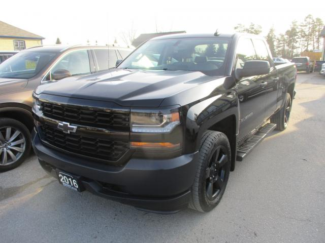 2016 Chevrolet Silverado 1500 GREAT KM'S LS EDITION 6 PASSENGER 5.3L - VORTEC.. 4X4.. QUAD-CAB.. SHORTY.. TRAILER BRAKE.. BACK-UP CAMERA.. KEYLESS ENTRY..