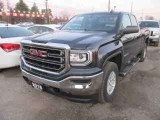 Used 2018 GMC Sierra 1500 LIKE NEW SL MODEL 6 PASSENGER 5.3L - VORTEC.. 4X4.. QUAD-CAB.. SHORTY.. TOW SUPPORT.. BACK-UP CAMERA.. BLUETOOTH SYSTEM.. for sale in Bradford, ON
