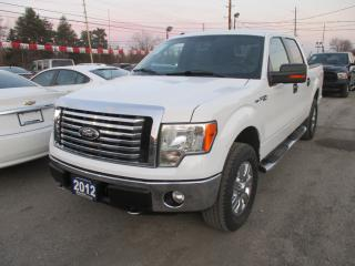 Used 2012 Ford F-150 GREAT VALUE XLT EDITION 5 PASSENGER 5.0L - V8 ENGINE.. 4X4.. CREW CAB.. SHORTY.. TRAILER BRAKE.. BLUETOOTH SYSTEM.. CD/AUX/USB INPUT.. for sale in Bradford, ON