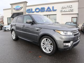 Used 2016 Land Rover Range Rover Sport Diesel Td6 HSE (2016.5) for sale in Ottawa, ON