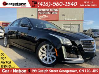 Used 2016 Cadillac CTS AWD | 2.0L TURBO| CLEAN CARFAX | LTHR |ROOF | 24KM for sale in Georgetown, ON