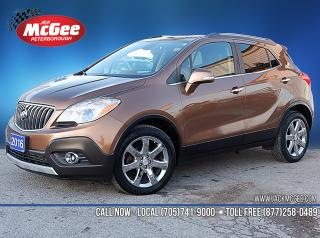 Used 2016 Buick Encore Leather for sale in Peterborough, ON