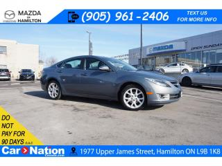 Used 2011 Mazda MAZDA6 GT-I4 GT | LEATHER | SUNROOF | XM RADIO | REAR CAM | BT for sale in Hamilton, ON