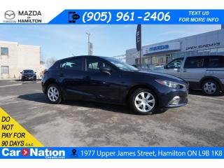 Used 2016 Mazda MAZDA3 GX | 6 SPEED | BLUETOOTH | B/U CAM | LOW KMS for sale in Hamilton, ON