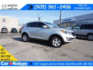 Used 2016 Kia Sportage LX | AWD | HEATED SEATS | XM RADIO | BLUETOOTH for sale in Hamilton, ON