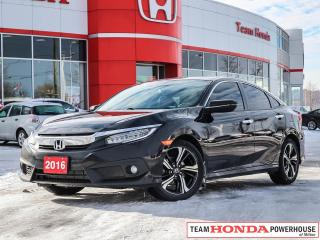Used 2016 Honda Civic Touring--1 Owner--No Accidents--Fully Loaded for sale in Milton, ON
