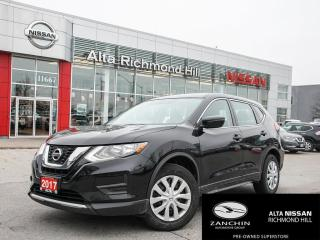 Used 2017 Nissan Rogue S FWD CVT for sale in Richmond Hill, ON