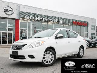 Used 2014 Nissan Versa 1.6 SV SV | KEYLESS ENTRY | BLUETOOTH | CRUISE CONTROL| for sale in Richmond Hill, ON