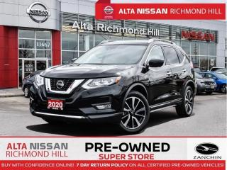 Used 2020 Nissan Rogue SL AWD   Pano   Leather   360 CAM   Apple Carplay for sale in Richmond Hill, ON