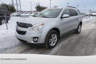 Used 2012 Chevrolet Equinox AWD BLUETOOTH SIEGES CHAUFFANTS DÉMAREUR A DISTANC for sale in St-Rémi, QC