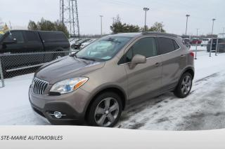 Used 2013 Buick Encore RADIO BOSE CAMERA ARRIERE for sale in St-Rémi, QC