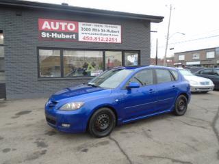 Used 2008 Mazda MAZDA3 GS for sale in St-Hubert, QC