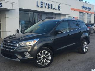 Used 2017 Ford Escape Titanium 4X4 CUIR GPS TOIT PANO for sale in St-Jérôme, QC
