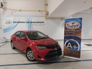 Used 2017 Toyota Corolla CE/SIÈGES CHAUFFANTS/AC for sale in Jonquière, QC