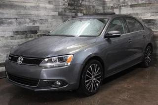 Used 2013 Volkswagen Jetta AUTOMATIQUE, SIÈGE EN CUIR ET CHAUFFANT, TOIT OUVR for sale in St-Sulpice, QC